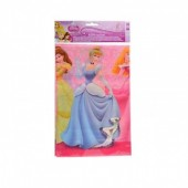 Toalha de mesa de plástico Princesas Disney