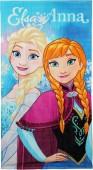 Toalha de Praia Elsa & Anna Frozen
