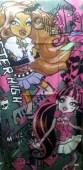 Toalha de Praia Monster High Modelo 3