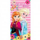 Toalha de Praia/Piscina da Elsa e Anna Frozen