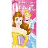 Toalha de Praia Princesas Disney - Listen to your Heart