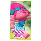 Toalha em micro-fibra praia Trolls - Have a Poppy Day