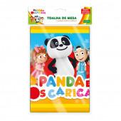 Toalha Festa Panda e os Caricas