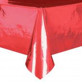Toalha Festa Vermelha Metalizada