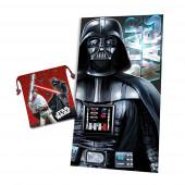 Toalha Microfibra + Saco Lanche Star Wars