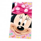 Toalha Minnie Disney Face