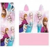 Toalha Poncho das Irmãs Frozen Disney