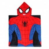 Toalha poncho homem aranha