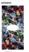 Toalha poncho Marvel Avengers Microfibra