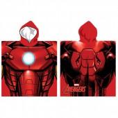 Toalha poncho Marvel Iron Man