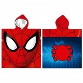 Toalha poncho Marvel Spiderman Microfibra