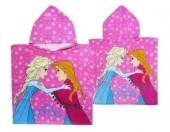 Toalha poncho praia Frozen Sisters Queens