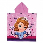 Toalha poncho Princesa Sofia Disney Sweet