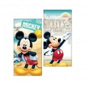 Toalha Praia 100% algodão Disney Mickey sortida