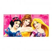 Toalha Praia Algodão 3 Princesas Disney