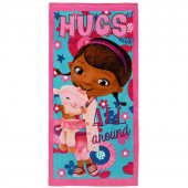 Toalha Praia Algodão Doutora Brinquedos Hugs