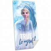 Toalha Praia Algodão Frozen 2 True to Myself