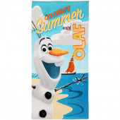 Toalha Praia Algodão Frozen Olaf Summer