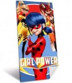 Toalha Praia Algodão Ladybug Girl Power