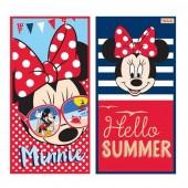 Toalha Praia algodão Minnie -  Hello Summer - sortido
