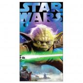 Toalha Praia Algodão Star Wars Yoda