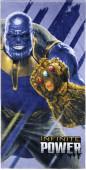 Toalha Praia Algodão Thanos Marvel