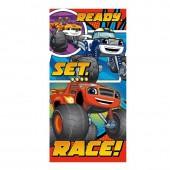 Toalha praia Blaze Ready Race!