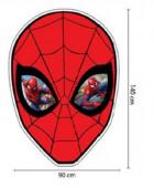 Toalha Praia Forma Spiderman Microfibra 90x140cm