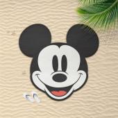 Toalha Praia Mickey 130x130cm