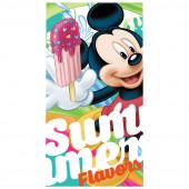 Toalha Praia Mickey Algodão Summer Flavors