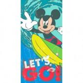 Toalha Praia Mickey Lets Go