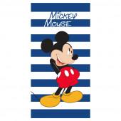 Toalha Praia Mickey Listas 70x140cm