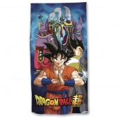 Toalha Praia Microfibra Dragon Ball Super