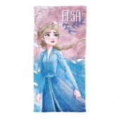Toalha Praia Microfibra Elsa Frozen 2