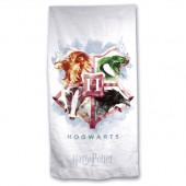 Toalha Praia Microfibra Hogwarts Harry Potter