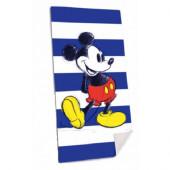 Toalha Praia Microfibra Mickey Azul