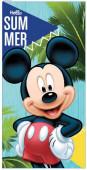 Toalha Praia Microfibra Mickey Hello Summer