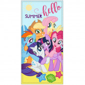 Toalha Praia Microfibra My Little Pony Summer Hello