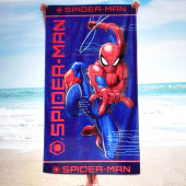 Toalha Praia Microfibra Spiderman Moves