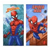 Toalha Praia Microfibra Spiderman Sortido