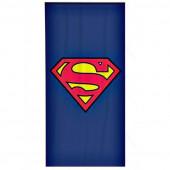 Toalha Praia Microfibra Superman Símbolo