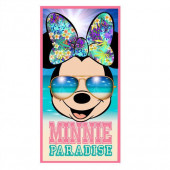Toalha Praia Minnie Paradise Algodão