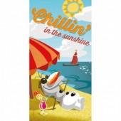 Toalha praia piscina Frozen Olaf