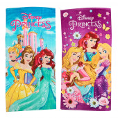 Toalha Praia Princesas Disney Algodão Sortido
