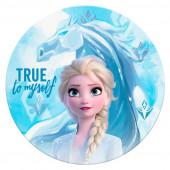 Toalha Praia Redonda Microfibra Frozen 2 Disney
