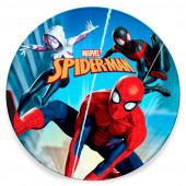 Toalha Praia Redonda Spiderman Marvel