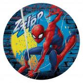 Toalha Praia Redonda Spiderman Zzipp