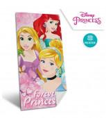 Toalha Princesas Disney em Micro-fibra