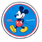 Toalha Redonda Mickey Microfibra
