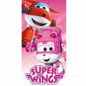 Toalha Super Wings Microfibra Jett e Dizzy